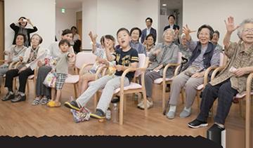ウエリスオリーブ津田沼 交流イベント開催-2